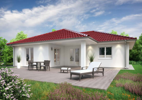One storey house design ideas for Fachadas de casas de un solo piso