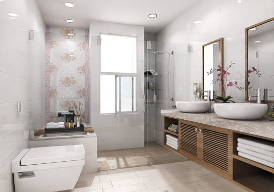 5 fantastic tips to revamp your small bathroom for Easy ways to revamp your bathroom