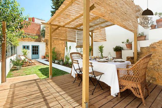 13 p rgolas perfectas para patios peque os - Pergolas para jardines pequenos ...