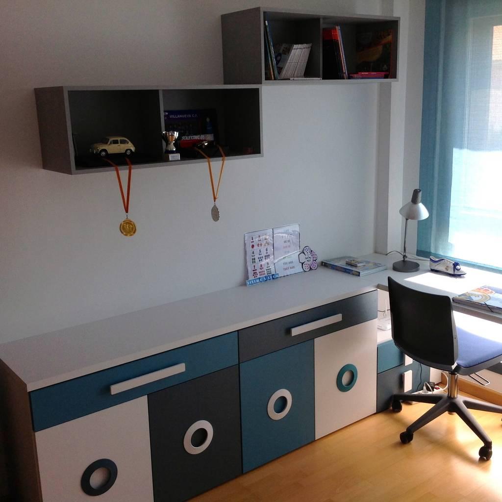 Habitaci N Juvenil Chico De La Alcoba Homify # Muebles Laalcoba
