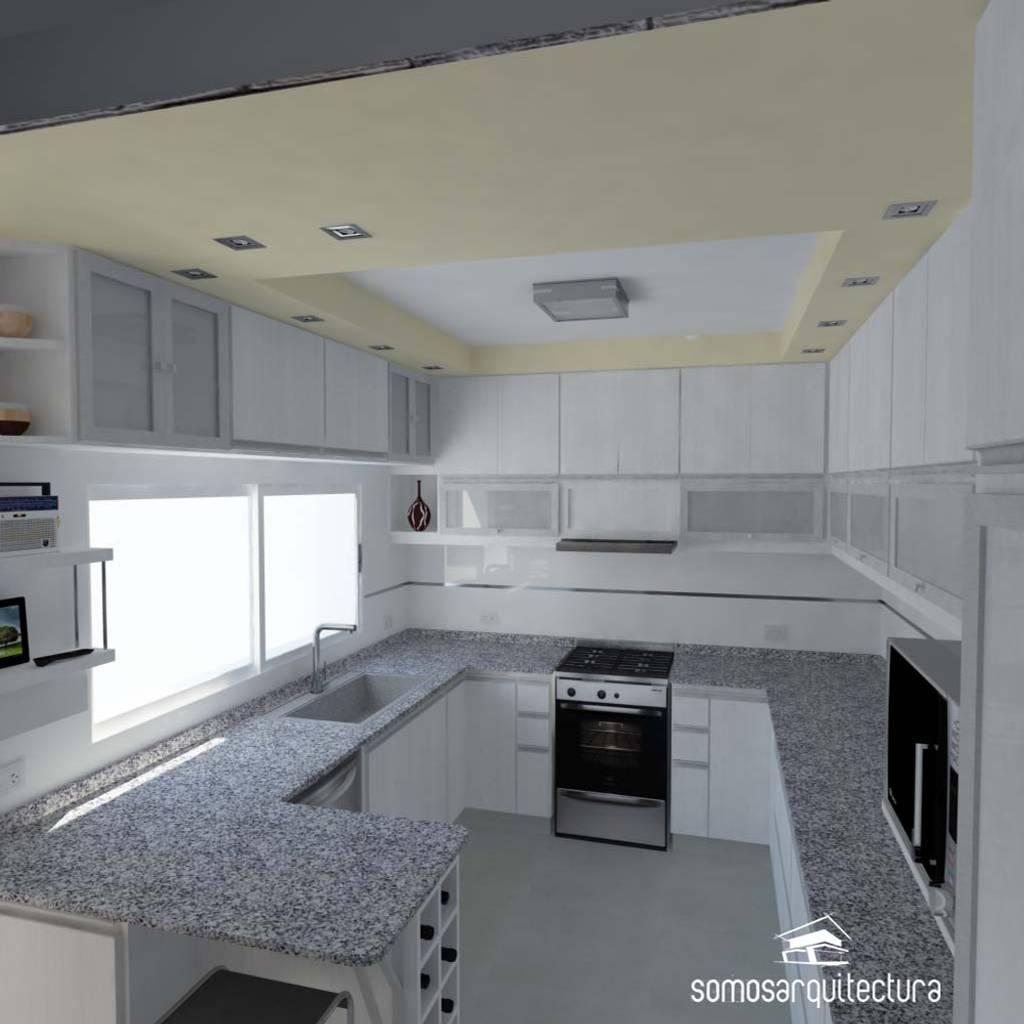 Proyecto de reforma en cocina lavadero cocinas de for Lavadero cocina