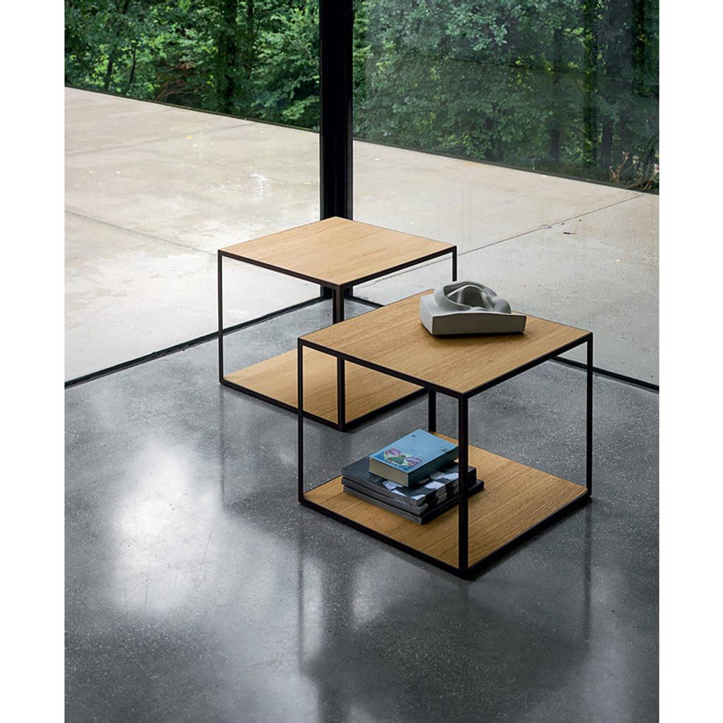 Square Steel Coffee Table Italian C 1970: Interior Design Ideas, Redecorating & Remodeling Photos