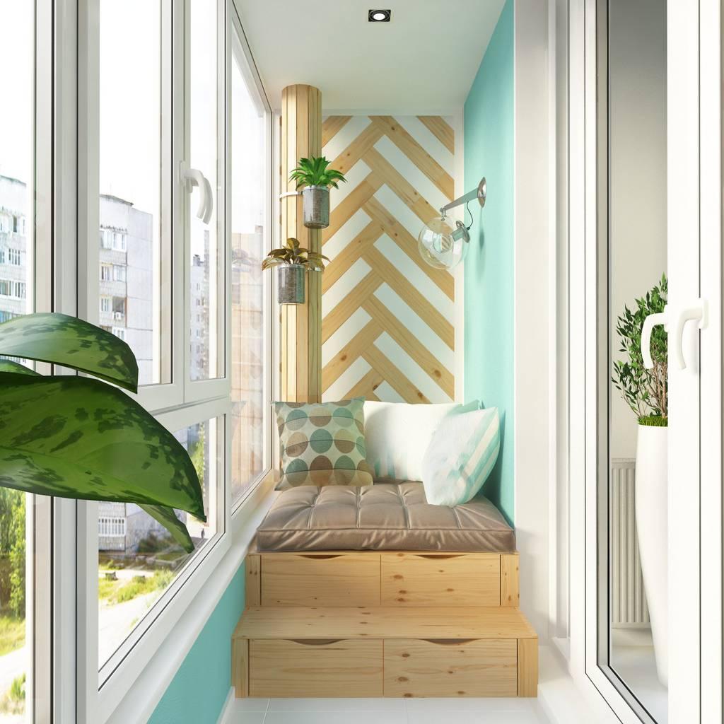 Спальня на балконе: как организовать пространство дизайн инт.