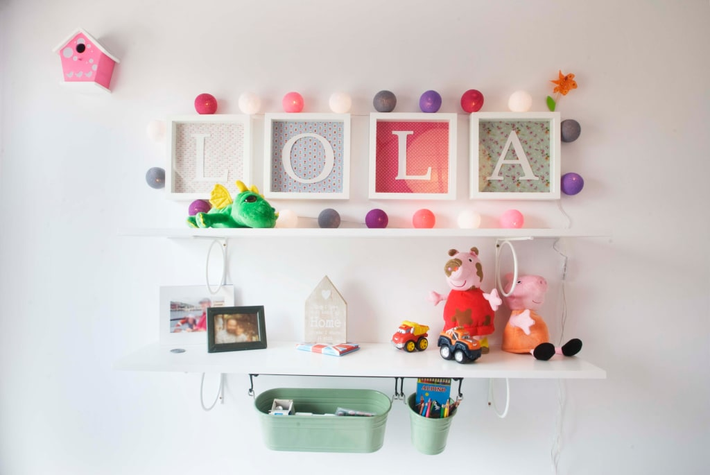 Ideas decoracion habitacion top habitacin de lola - Lola decoracion ...