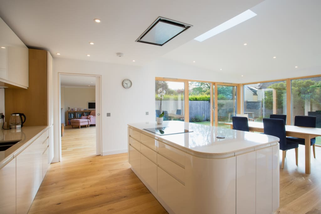 photos of contemporary kitchens zinc extension kitchen by creatures architects homify 4158