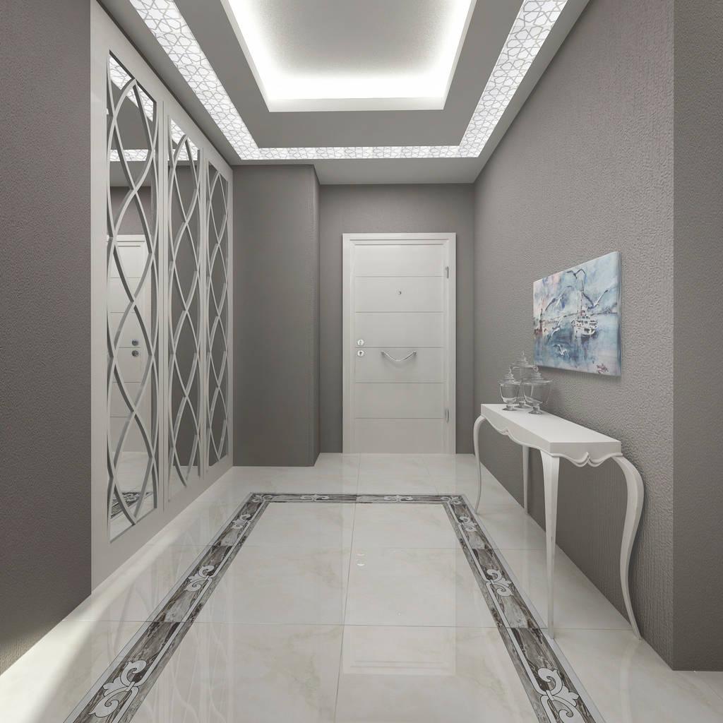 couloir et hall d 39 entr e de style par treso i mimarl k homify. Black Bedroom Furniture Sets. Home Design Ideas