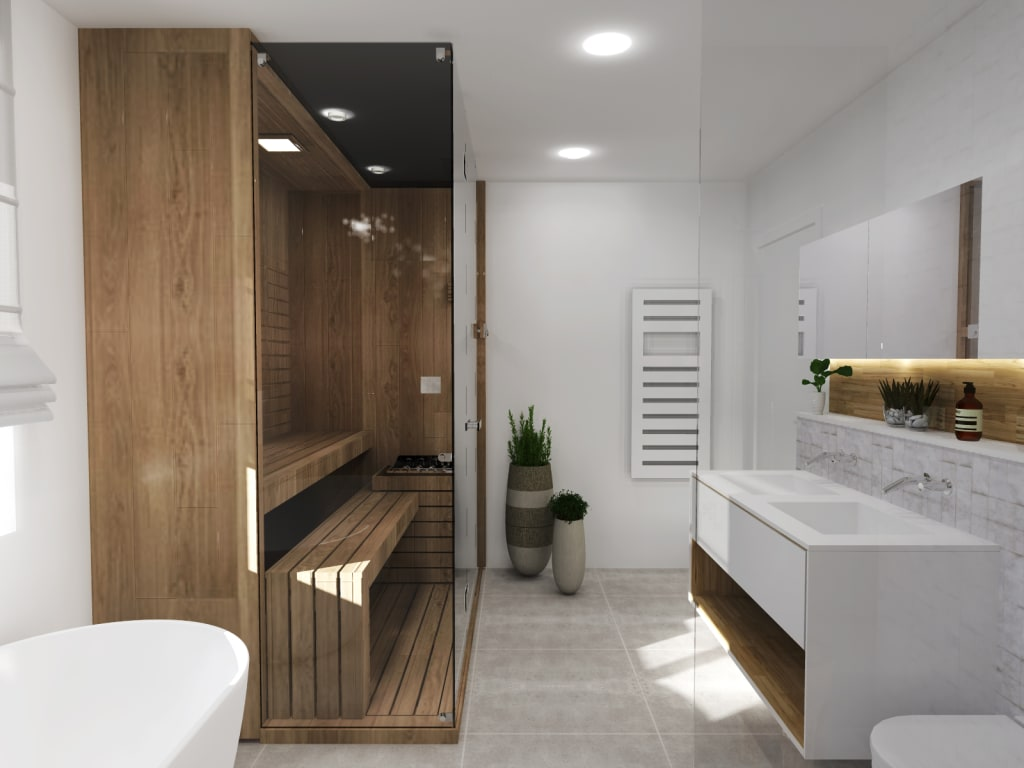 salle de bain strasbourg salle de bains de style par ektor studio homify. Black Bedroom Furniture Sets. Home Design Ideas