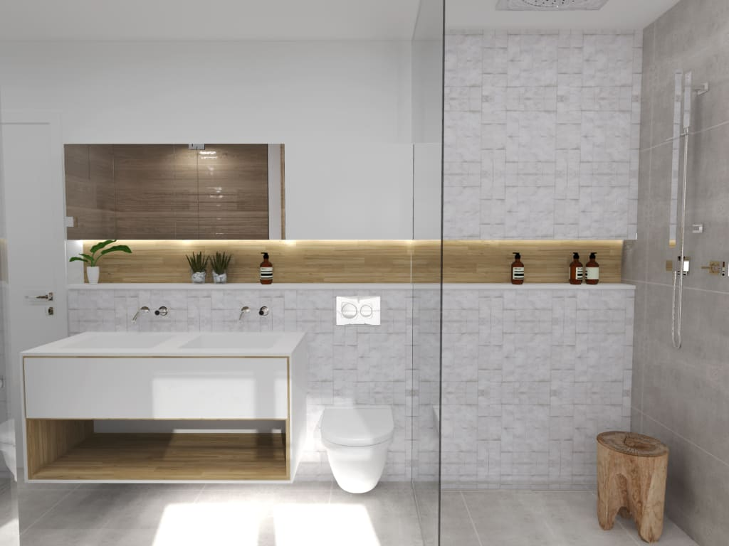 Id es de design d 39 int rieur et photos de r novation homify for Salle bain scandinave