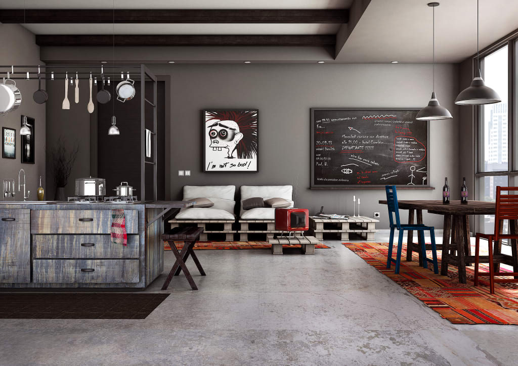 Stunning Cucine Stile Industriale Contemporary - bery.us - bery.us