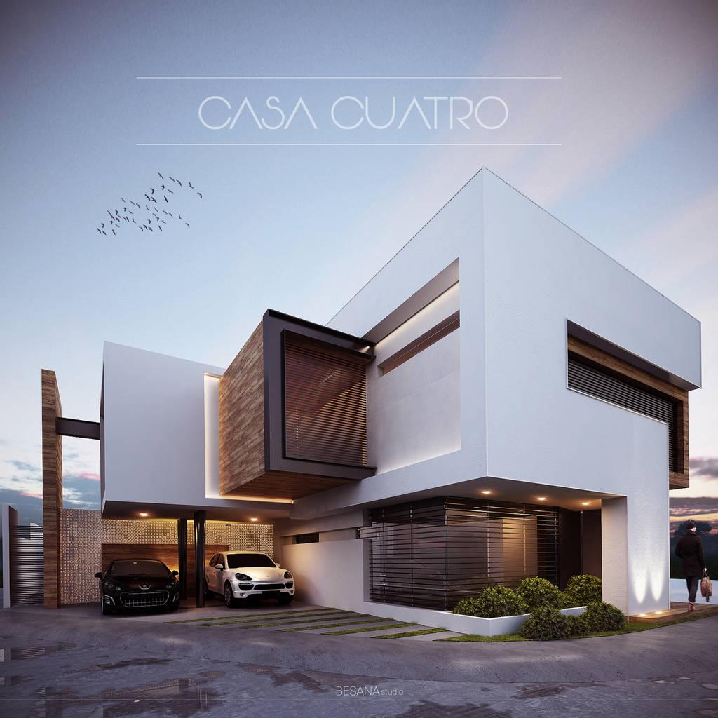 Ideas im genes y decoraci n de hogares homify for Casa tipo minimalista