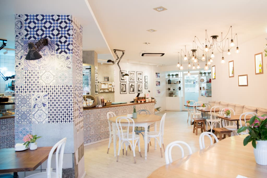 Best Ideas About Bakery Interior Design Also French Cafe Dec.Bakery ...