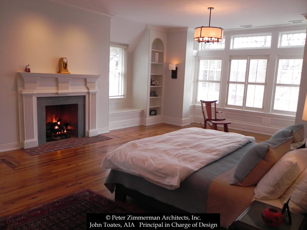 Bedroom classic style bedroom by john toates architecture ...