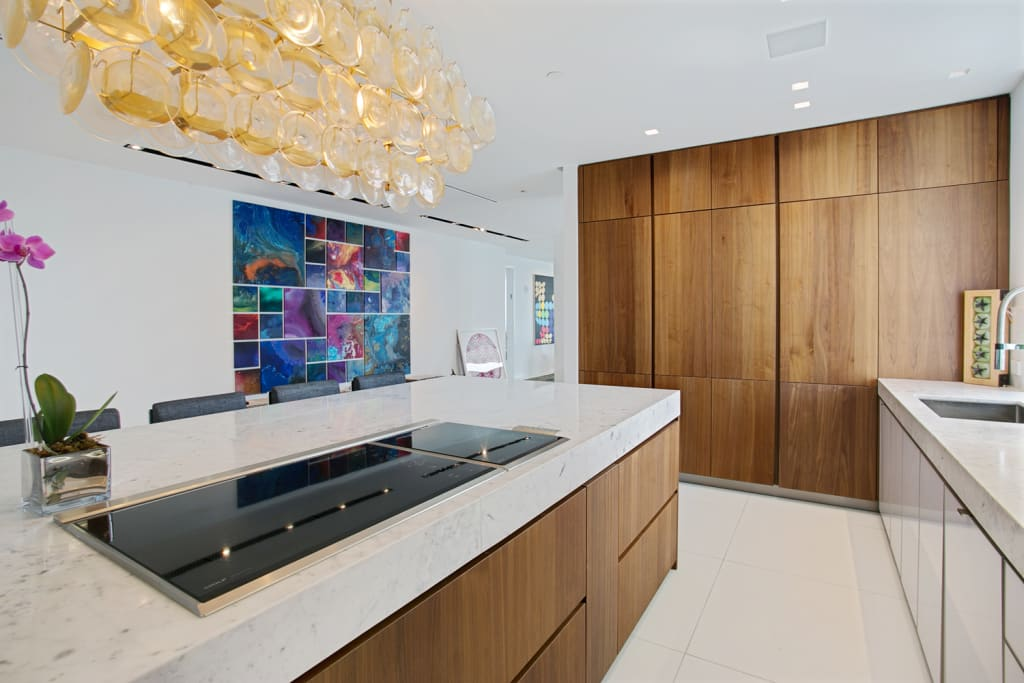 Collins avenue project kitchen and bathrooms modern ...