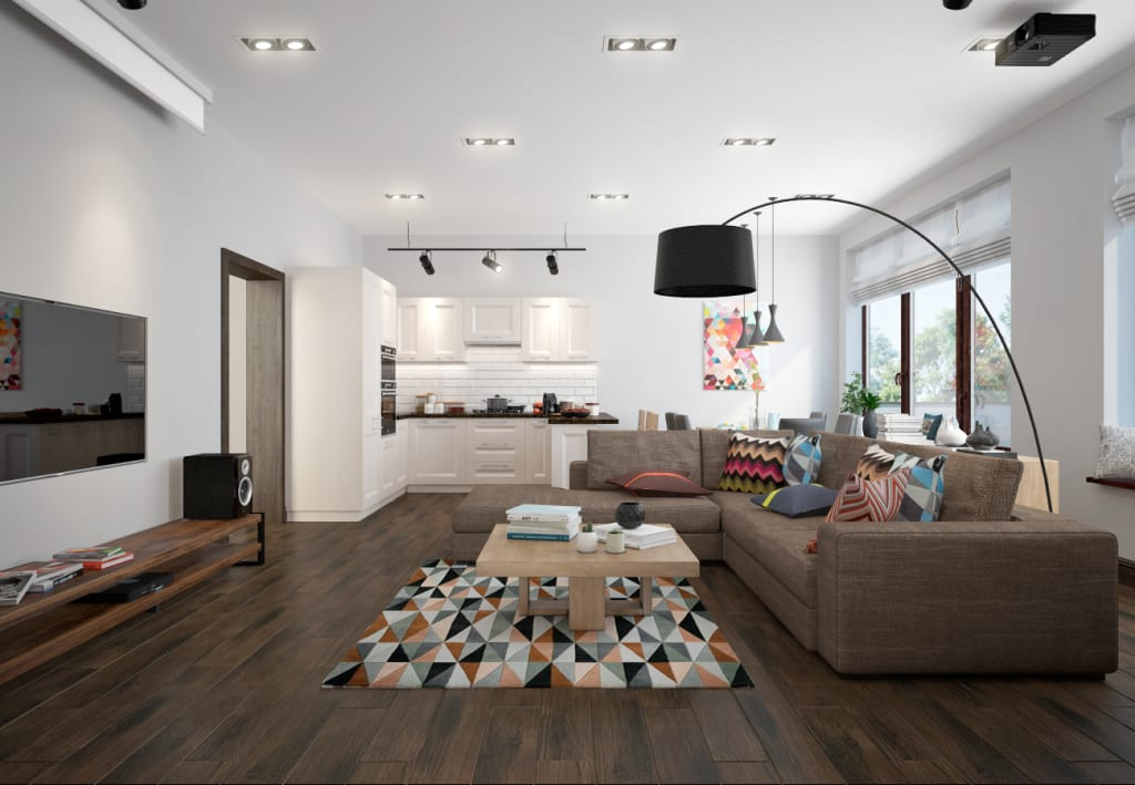 Interior design ideas architecture and renovating photos for Living room 2 for daz studio