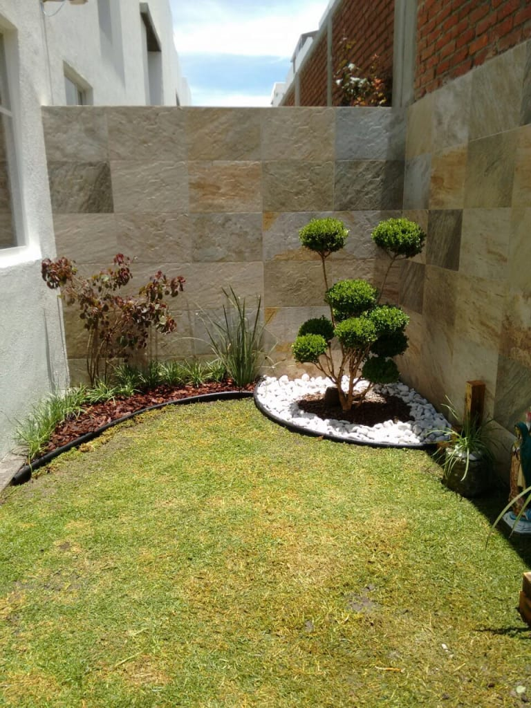 Ideas im genes y decoraci n de hogares homify for Piedras blancas para patio