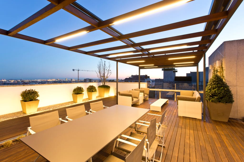 Fotos de decoraci n y dise o de interiores homify - Garden center barcelona ...