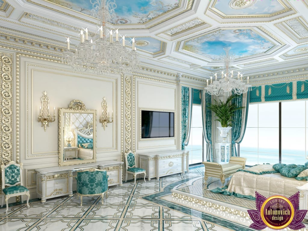 Palatial Bedroom Design Of Katrina Antonovich Bedroom By