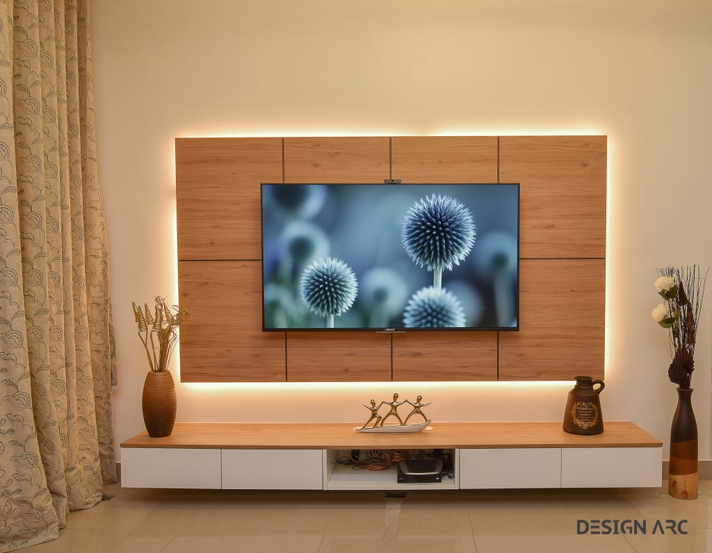 Tv Unit Design Living Room By Design Arc Interiors Homify