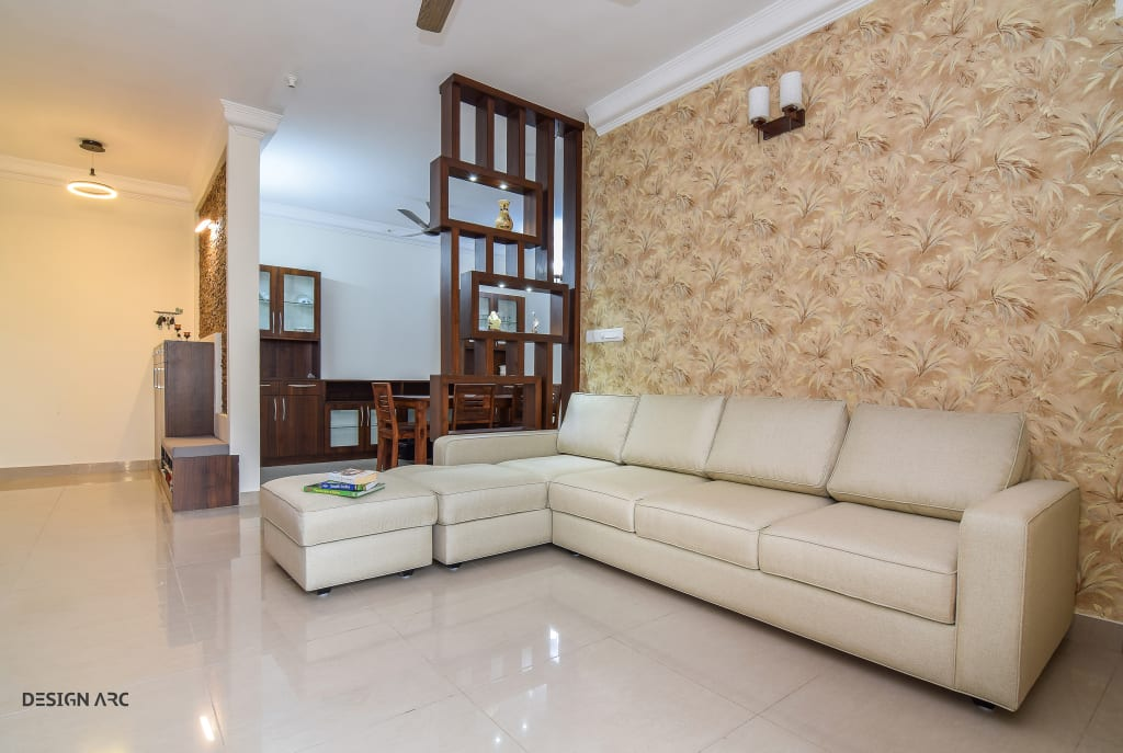 Living room interior design bangalore living room by - Apartment interiors in bangalore ...