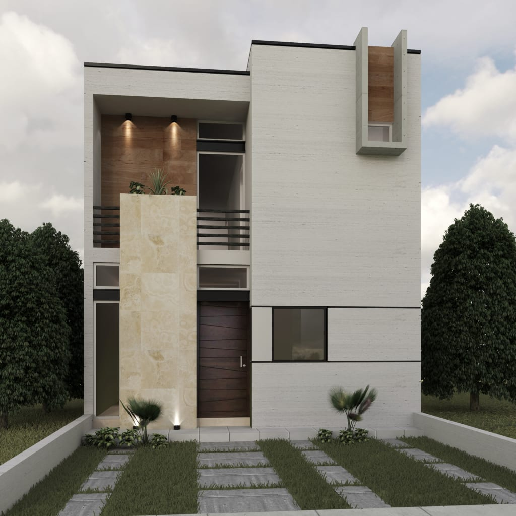 Fachadas de viviendas mejores imgenes de fachadas de for Estilos de viviendas