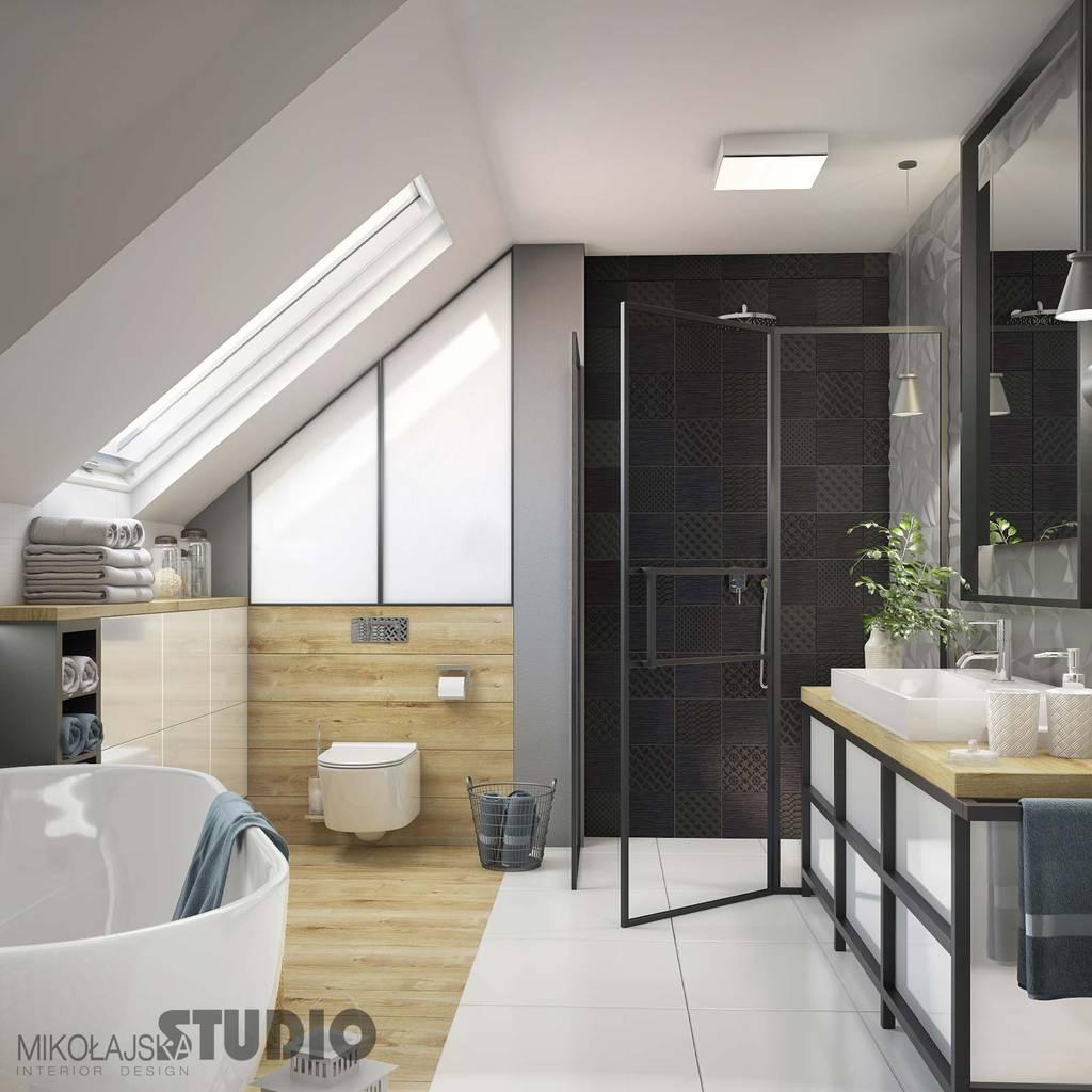 Schöne moderne badezimmer: badezimmer von mikolajskastudio ...