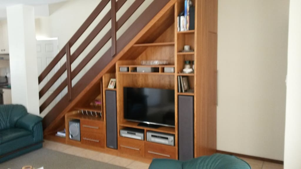 Staircase Tv Unit Classic Style Corridor Hallway And