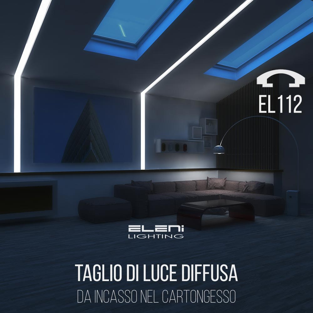 Tagli Di Luce Nel Controsoffitto modern living room by eleni lighting modern | homify