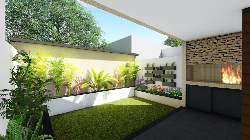 Jardines de casas modernas excellent amazing interesting for Jardines de casas modernas