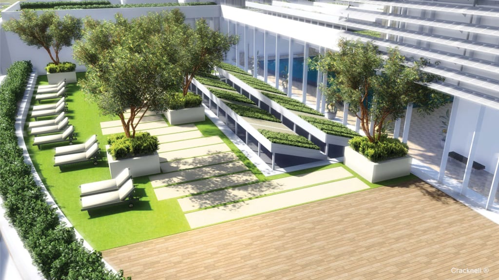 Roof Garden Of The Spa Modern Hotels By Ar Architecture Modern Homify