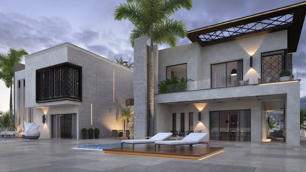 Residential Villa Complex: Multi Family House By SIA Design Studio