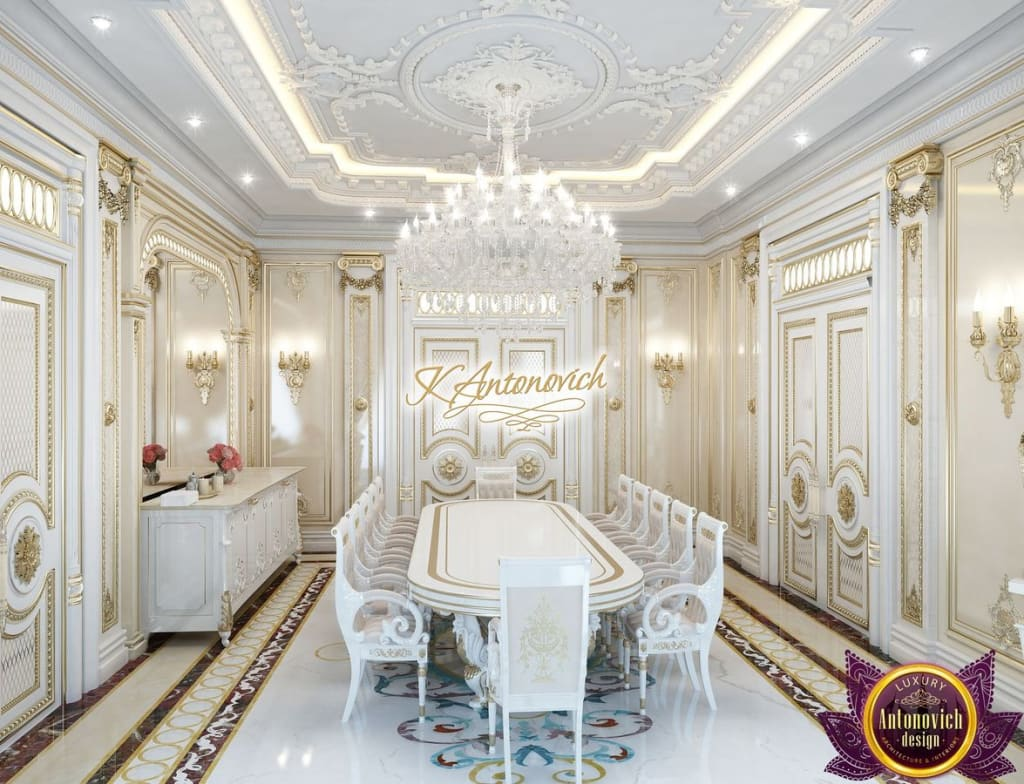Sala da pranzo in stile di luxury antonovich design homify for Siti di interior design