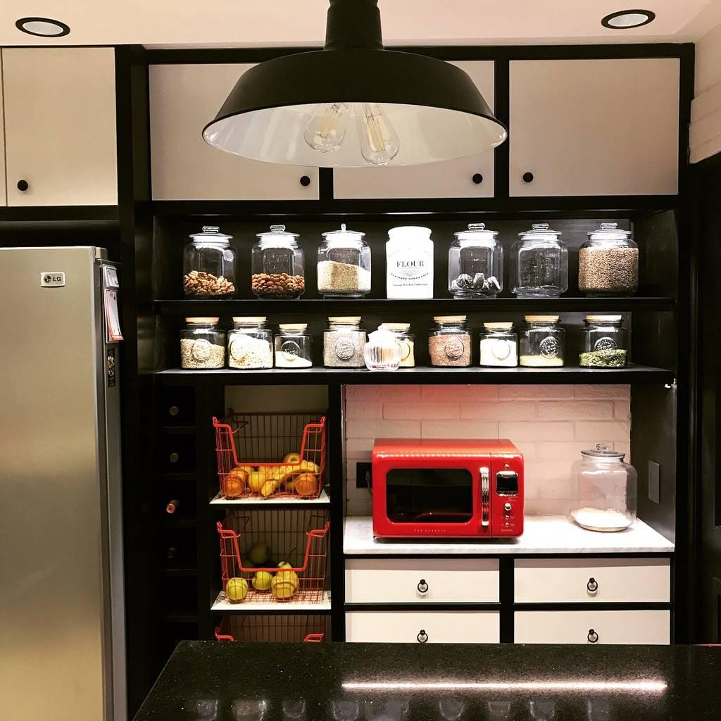 Alacena en cocina vintage muebles de cocinas de estilo for Estilos de muebles de cocina