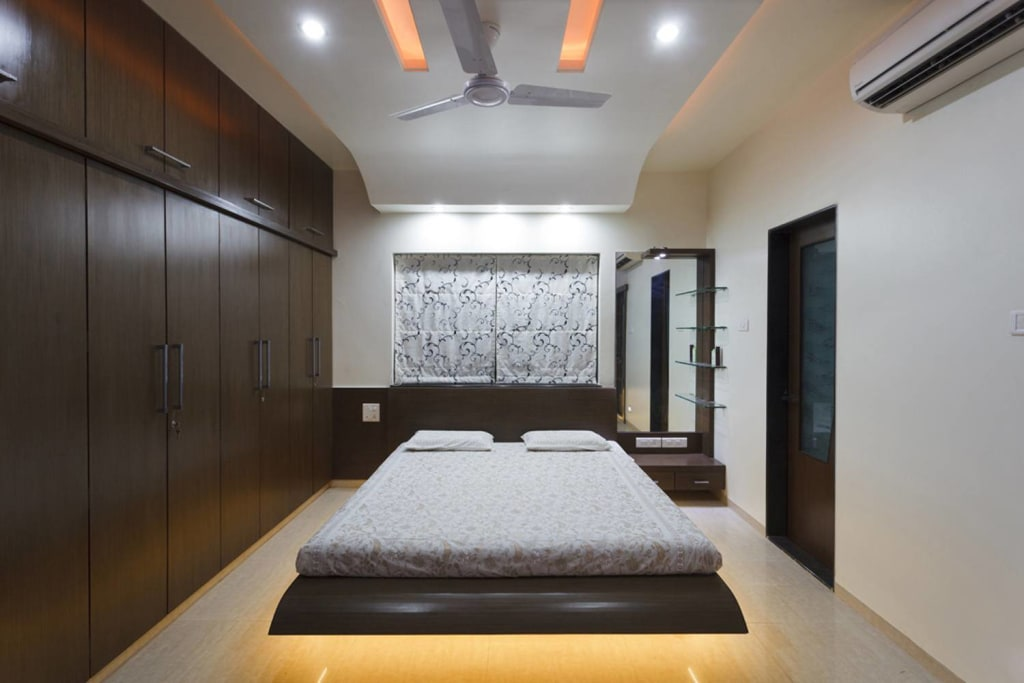 Guest Room Modern Style Bedroom By Kumar Interior Thane Modern Homify