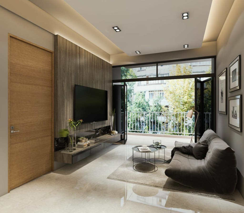Touch Of Luxury Modern Living Room By Singapore Carpentry Interior Design Pte Ltd Modern Homify