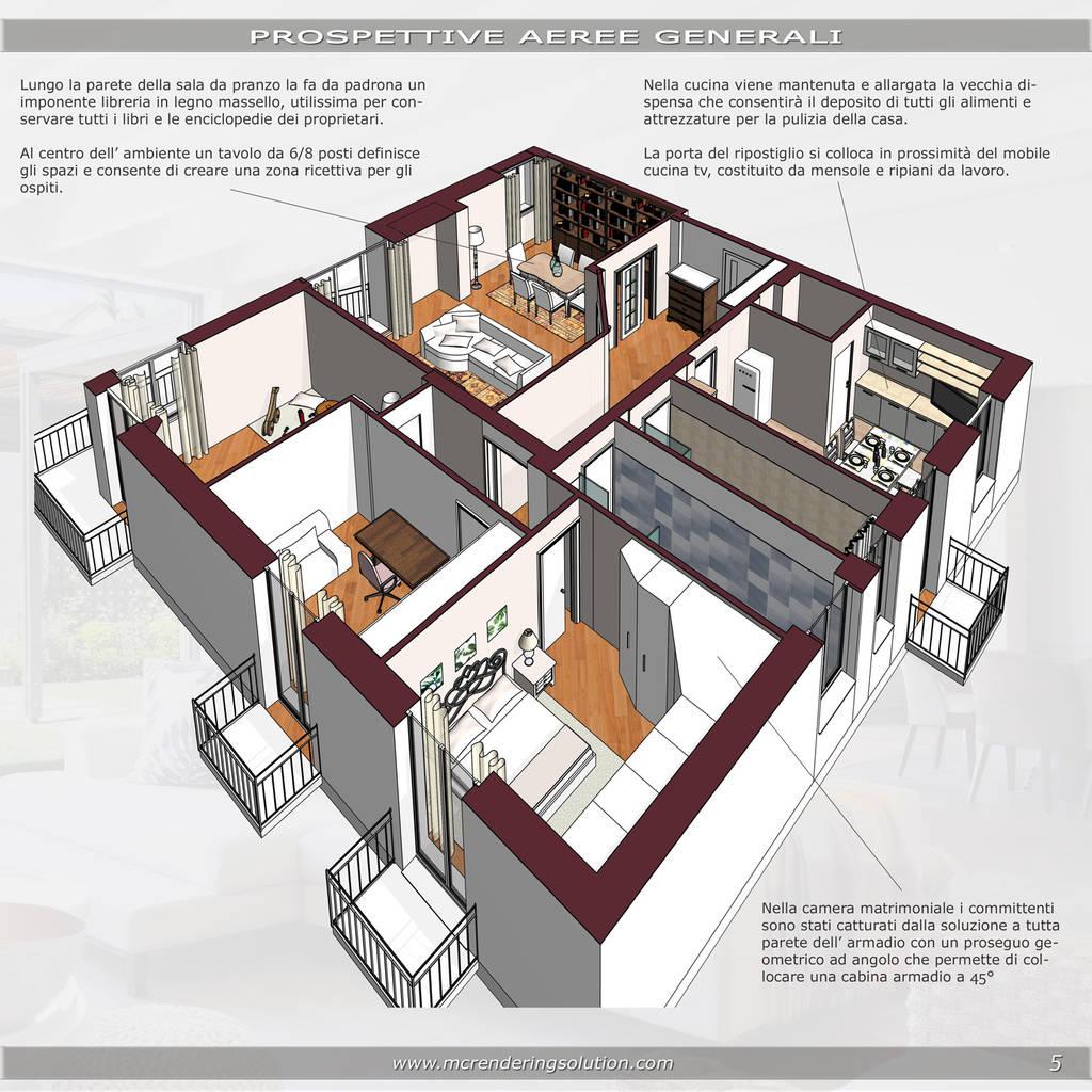 Armadio Ripostiglio Ad Angolo classic style bedroom by mc ristrutturare casa classic   homify