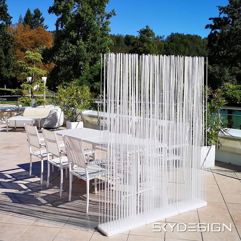 Schöner wohnen sichtschutz terrasse ideen von skydesign ...