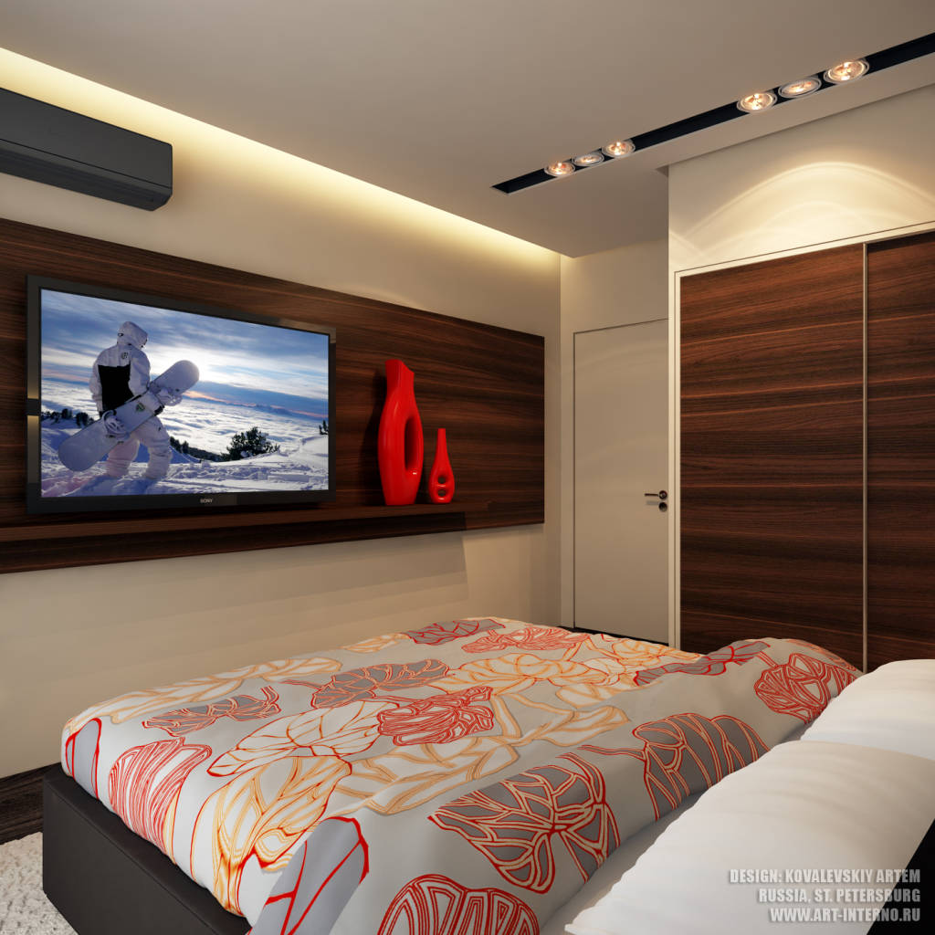 Foto di camera da letto in stile in stile moderno di art - Camera da letto foto ...