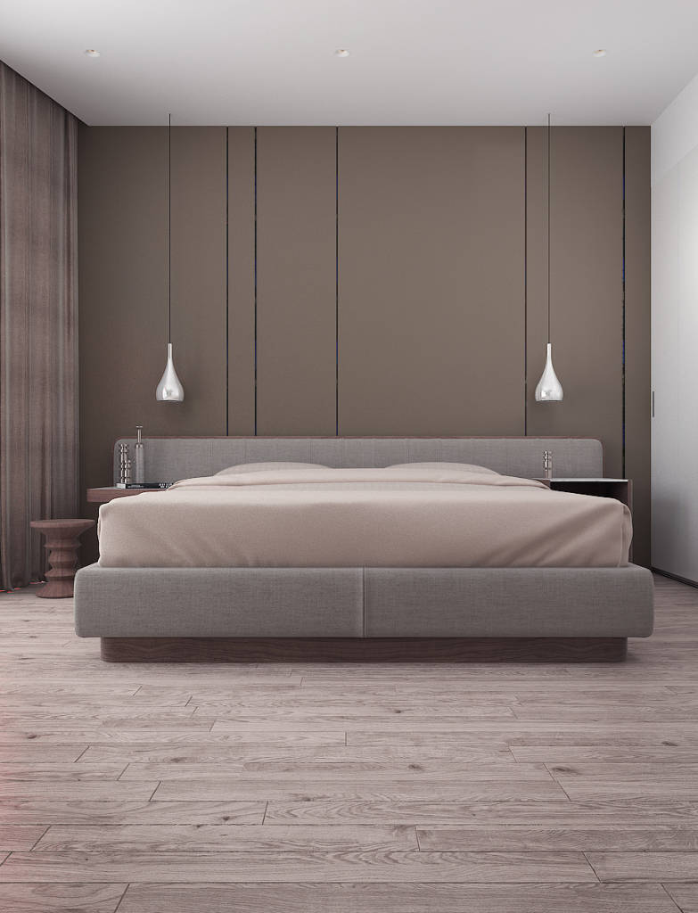 Minimalistic bedroom photos in beige by vitta group homify