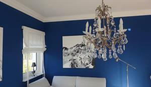 Exklusives Interior Design für eine Stadtwohnung:  Wohnzimmer von Stilschmiede - Berlin - Interior Design